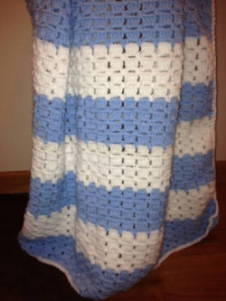 Free Baby Blanket Knitting Pattern | Favorite free